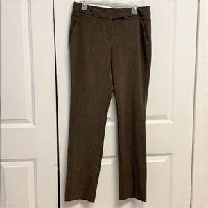 Worthington Dress Pants Size 6 Modern Fit Brown